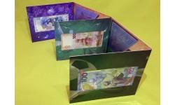Капсульный альбом с юбилейными банкнотами 100 рублей - Сочи, Крым, Футбол
