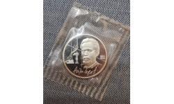 1 рубль СССР 1990 г. А. П. Чехов, в запайке