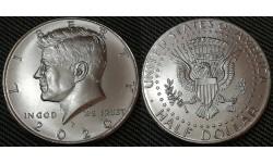 50 центов США 2020 г. Кеннеди, Двор P