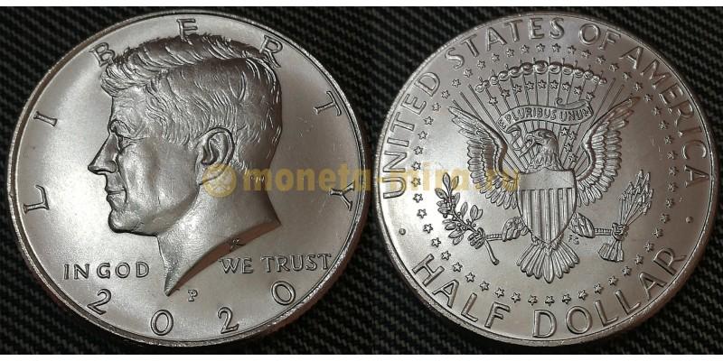 1/2 доллара США 2020 г. Кеннеди, Двор P