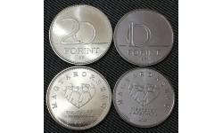 Набор из 2 монет 10 и 20 форинтов Венгрии 2020 г. Пандемия коронавируса, медики
