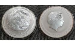 1 доллар Австралии 2012 г. год дракона, Лунар 2