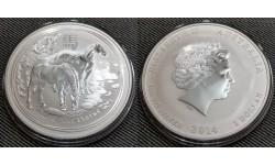 1 доллар Австралии 2014 г. год лошади, Лунар 2