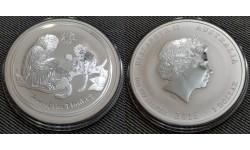 1 доллар Австралии 2016 г. год обезьяны, Лунар 2