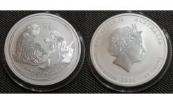 50 центов Австралии 2016 г. год обезьяны, Лунар 2