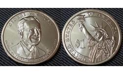 1 доллар США 2020 г. Джордж Буш ст. , 41 президент