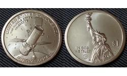 1 доллар инновации США 2020 г. Космический телескоп Хаббл, штат Мэриленд - №8