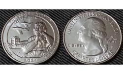 25 центов США 2021 г. Историчкское место Пилоты из Таскиги, парк №56