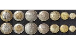 Набор из 7 монет Португалии 1987-1991 гг..