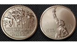 1 доллар инновации США 2019 г. Попечительские сады, штат Джорджия