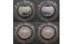 Набор из 2 монет 1 рубль 2012 г. И-16, ИЛ-76