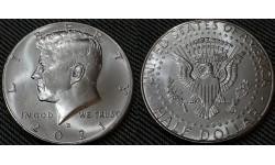 50 центов США 2021 г. Кеннеди, Двор D