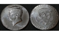 50 центов США 2021 г. Кеннеди, Двор P