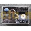 Набор из 5 монет Малави 2009 г. 50 квача Milestones in Space Travel с кусочком метеорита с луны