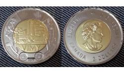 2 доллара Канады 2017 г. Битва при Вими-Ридже
