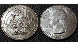 25 центов США 2019 г. Национальный парк Лоуэлл, №46 двор D