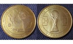 Жетон Чемпионат Мира по футболу 2006 г. в Германии - сборная Аргентины