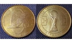 Жетон Чемпионат Мира по футболу 2006 г. в Германии - сборная Эквадора