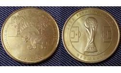 Жетон Чемпионат Мира по футболу 2006 г. в Германии - сборная Кот-д'Ивуара