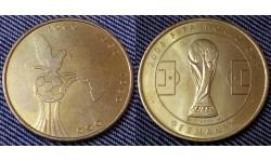 Жетон Чемпионат Мира по футболу 2006 г. в Германии - сборная Того