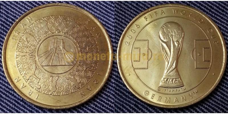 Жетон Чемпионат Мира по футболу 2006 г. в Германии - сборная Ирана