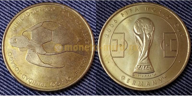 Жетон Чемпионат Мира по футболу 2006 г. в Германии - сборная Тринидад и Тобаго