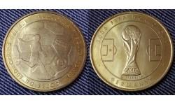 Жетон Чемпионат Мира по футболу 2006 г. в Германии - сборная Южной Кореи