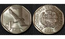 1 соль Перу 2017 г. Андский кондор