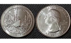 25 центов США 2019 г. Резерват имени Фрэнка Черча, парк №50 двор D