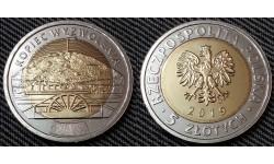 5 злотых Польши 2019 г. Курган освобождения