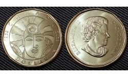 1 доллар Канады 2019 г. 50 лет декриминализации геев в Канаде
