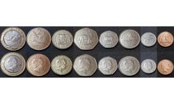 Набор из 8 монет Фолклендских островов 2004-2011 гг.. Животные