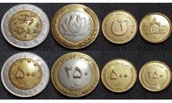 Набор из 4 монет Ирана 2004-2006 гг. 50,100,250,500 риалов