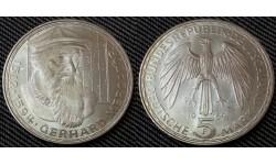 5 марок ФРГ 1969 г. Герхард Меркатор - серебро 625 пр.