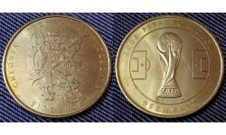 Жетон Чемпионат Мира по футболу 2006 г. в Германии - сборная Чехии