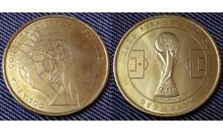Жетон Чемпионат Мира по футболу 2006 г. в Германии - сборная Коста-Рики