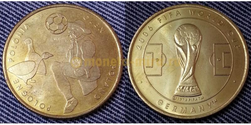 Жетон Чемпионат Мира по футболу 2006 г. в Германии - сборная Польши