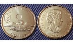 1 доллар Канады 2012 г. утка Лаки луни серия: Олимпийские Игры в Лондоне 2012