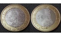 5 евро Финляндии 2018 г. - город Порвоо