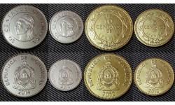 Набор из 4 монет Гондураса 2012-2014 гг. 5,10,20 и 50 сентаво