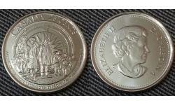 25 центов Канады 2013 г. Арктическая экспедиция - глянцевая