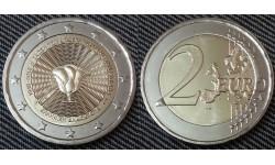 2 евро Греции 2018 г. 70-летие Союза Додеканесских островов с Грецией