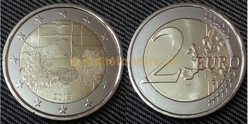 2 евро Финляндии 2018 г. Финская культура сауны
