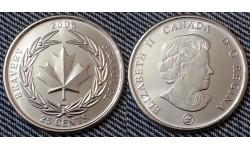 25 центов Канады 2006 г. Награда за храбрость