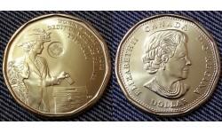 1 доллар Канады 2016 г. 100 летие женскому избирательному праву