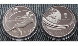 5000 форинтов Венгрии 2018 г. Чемпионат Мира 2018 - серебро 925 пр.