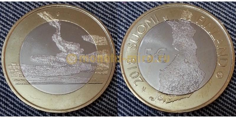 5 евро Финляндии 2018 г. Национальные земли Пункахарью