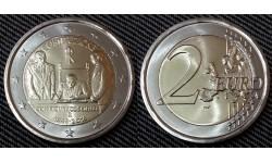 2 евро Италии 2018 г. 70 лет Конституции