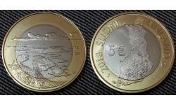 5 евро Финляндии 2018 г. - Архипелаговое море