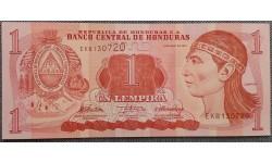 1 лемпира Гондураса 2010 г.